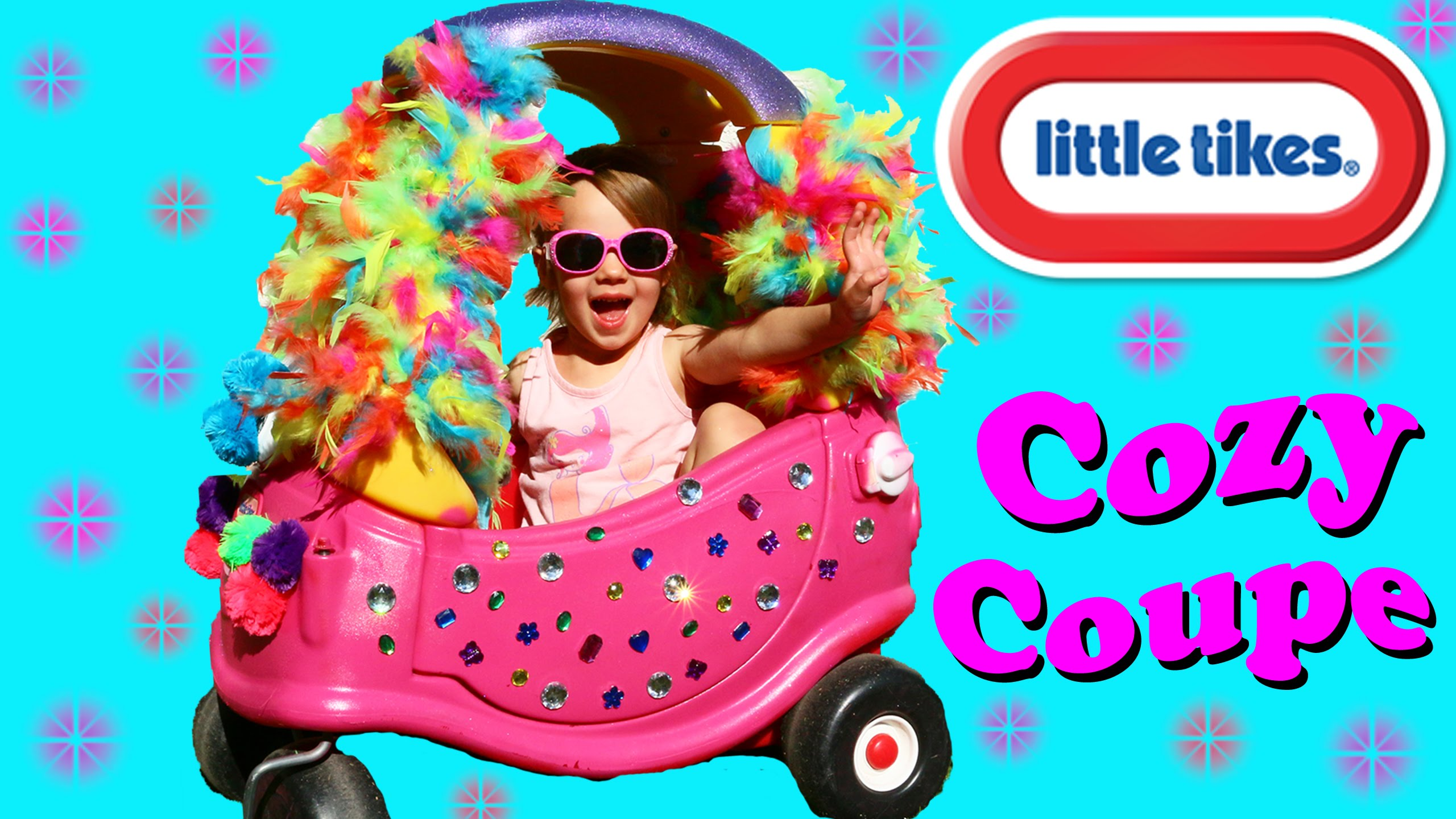 Little Tikes Surprise COZY COUPE Makeover Fun Toy For Kids DIY